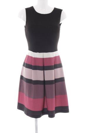 Anna Field A-Linien Kleid Streifenmuster Elegant