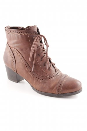Anna Field Heel Boots brown country style