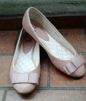 Anna Field Ballerina Gr. 38 beige nude ballerinas flach Schuhe Sommer flats süß