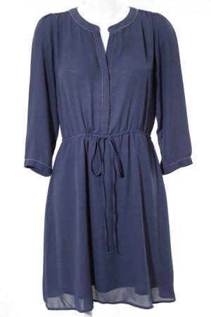 Anna Field Blusenkleid dunkelblau Elegant