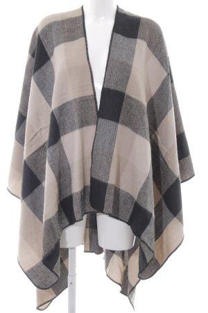 Anna Field Cape black-beige check pattern classic style