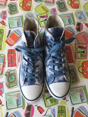 Anna Field Chucks Sneaker Gr. 38 Denimblau