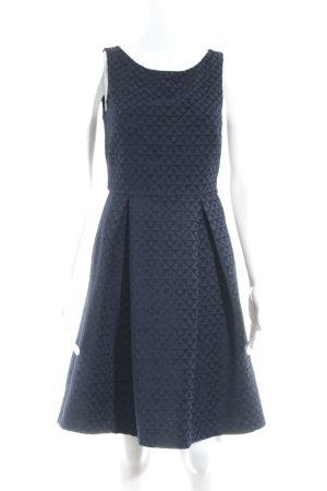 Anna Field Cocktailkleid dunkelblau grafisches Muster Elegant