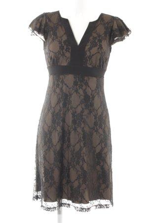 Anna Field Cocktailkleid schwarz-khaki Elegant