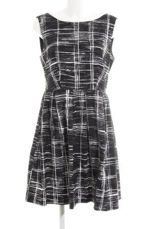 Anna Field Cocktailjurk zwart-wit abstract patroon elegant