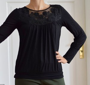 Anna Field Cowl-Neck Shirt black