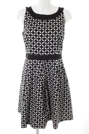 Anna Field Etuikleid schwarz-weiß grafisches Muster Casual-Look
