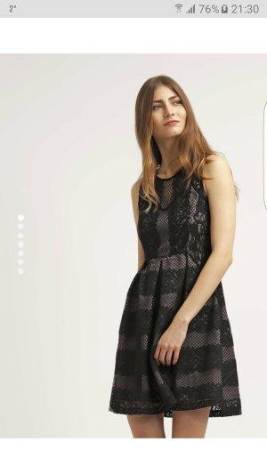 Anna Field Freizeitkleid schwarz taupe Gr 36 neu