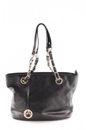 Anna Field Bolso barrel negro look casual