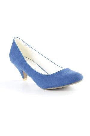 Anna Field Hoge hakken blauw simpele stijl
