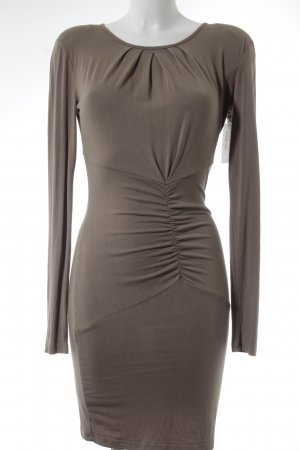 Anna Field Jersey Dress grey brown casual look