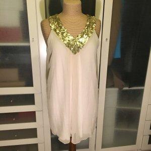 Anna Field Kleid mit Pailletten Gr. L