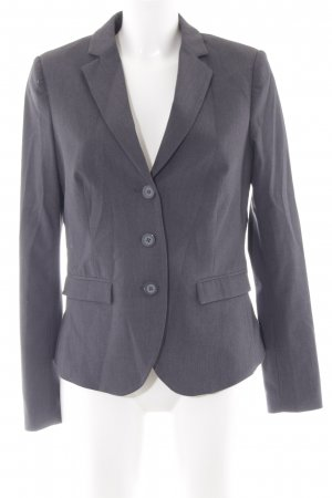 Anna Field Kurz-Blazer anthrazit meliert Business-Look