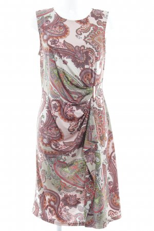 Anna Field Kurzarmkleid rosa-hellbeige abstraktes Muster Elegant