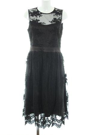 Anna Field Kurzarmkleid schwarz Elegant