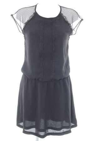 Anna Field Kurzarmkleid schwarz klassischer Stil