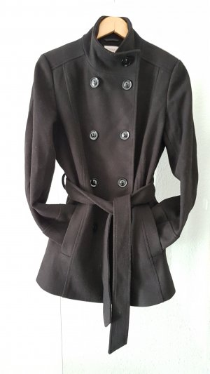 Anna Field Short Coat black mixture fibre