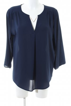 Anna Field Long Sleeve Blouse blue business style