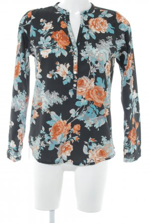 Anna Field Long Sleeve Blouse flower pattern casual look