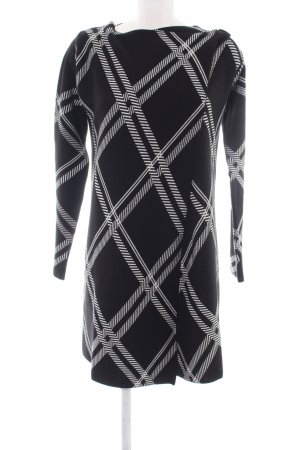Anna Field Longsleeve Dress black-white check pattern casual look