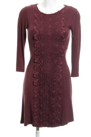 Anna Field Langarmkleid purpur Casual-Look