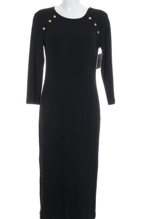 Anna Field Langarmkleid schwarz Elegant