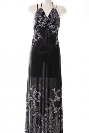 Anna Field Maxi Dress black-white mixed pattern elegant