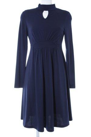 Anna Field Maxikleid blau schlichter Stil