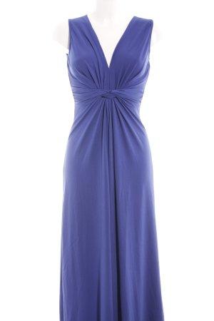 Anna Field Maxi abito blu-viola stile casual