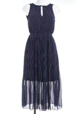 Anna Field Midi Dress dark blue spot pattern casual look