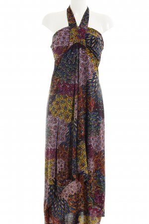 Anna Field Halter Dress abstract pattern casual look