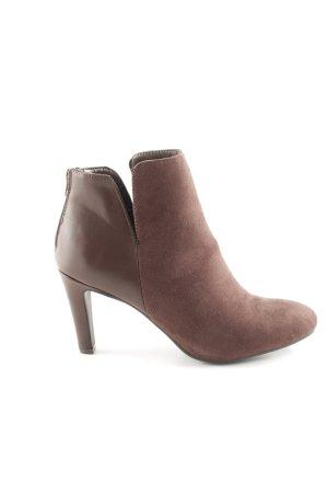 Anna Field Stivaletto con zip marrone stile casual