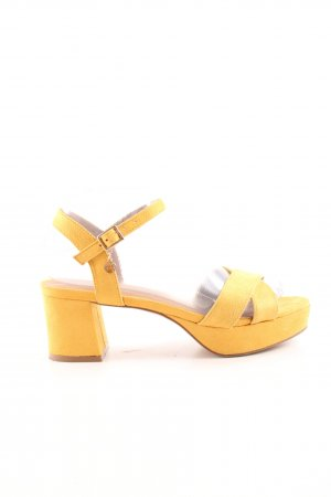Anna Field Strapped High-Heeled Sandals primrose casual look
