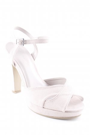 Anna Field Strapped High-Heeled Sandals pink classic style