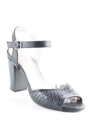 Anna Field Riemchen-Sandaletten schwarz klassischer Stil