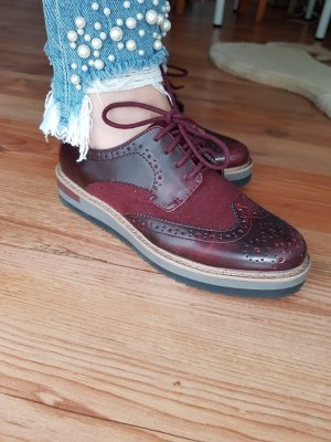 Anna Field Veterschoenen bordeaux