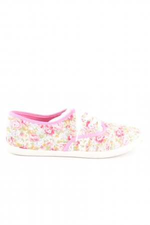 Anna Field Lace-Up Sneaker flower pattern casual look