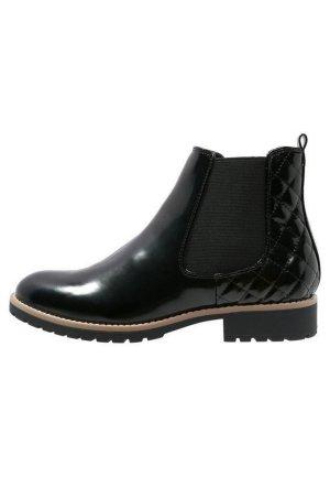 ANNA Field Schwarz Stiefeletten NP 89,99 Gr.40 Chelsea Boots Ankle Boots