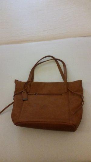 Anna Field Shopping Bag - cognac