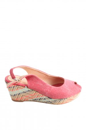 Anna Field Slingback Pumps weave pattern beach look