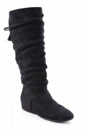 Anna Field Slouch Stiefel schwarz Casual-Look