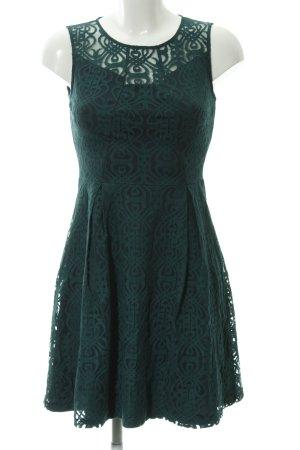 Anna Field Spitzenkleid dunkelgrün-dunkelblau Casual-Look