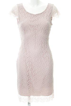 Anna Field Kanten jurk roze Patroon-mengeling casual uitstraling
