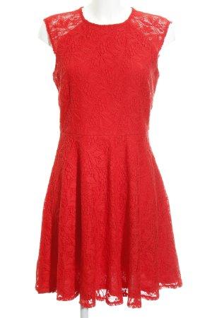 Anna Field Spitzenkleid rot Elegant
