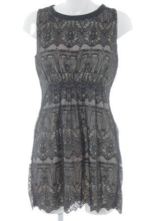 Anna Field Kanten jurk zwart-room Geweldige look