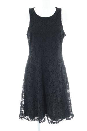 Anna Field Kanten jurk zwart elegant