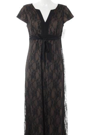 Anna Field Spitzenkleid schwarz-graubraun Elegant