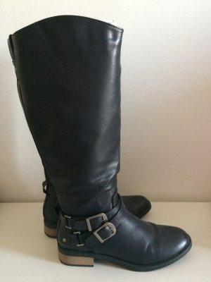 Anna Field Stiefel Gr. 40 schwarz wie neu