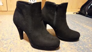 Anna Field Zipper Booties black