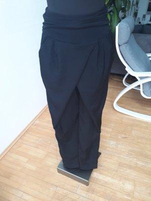 Anna Field Stoffen broek zwart Polyester